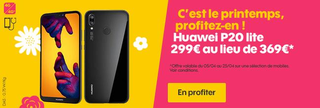Jusqu'à 250€ de remise sur 4 smartphones chez sosh