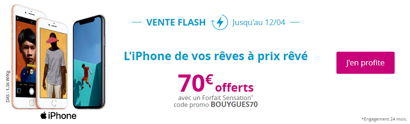 iphones en vente flash