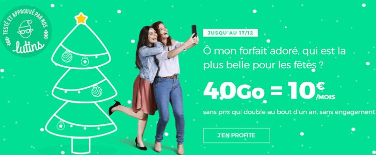 forfait red by sfr 30 go à 10€