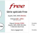forfait free mobile 100go vente privée