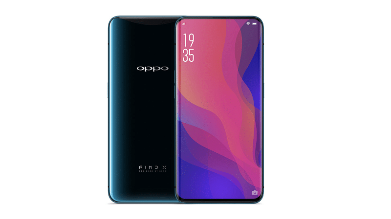 nouveau smartphone oppo find x