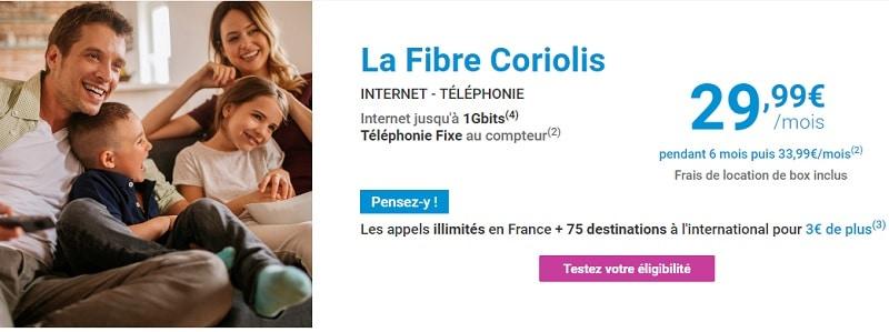 abonnement fibre coriolis