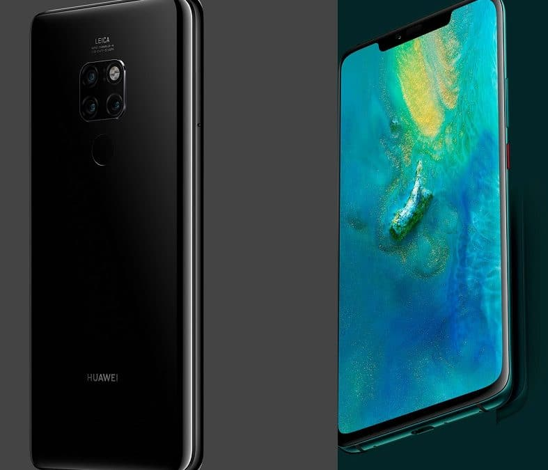 Huawei Mate 20 et mate 20 pro avec forfaits