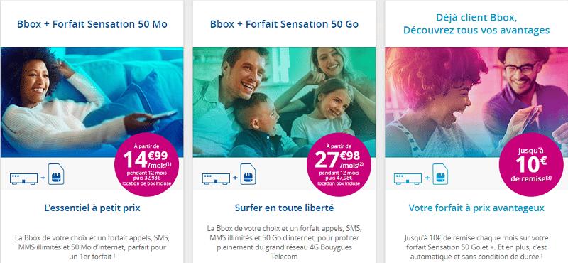 bbox + forfait mobile