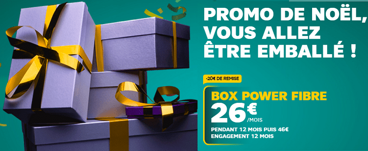 fibre power de sfr en promotion