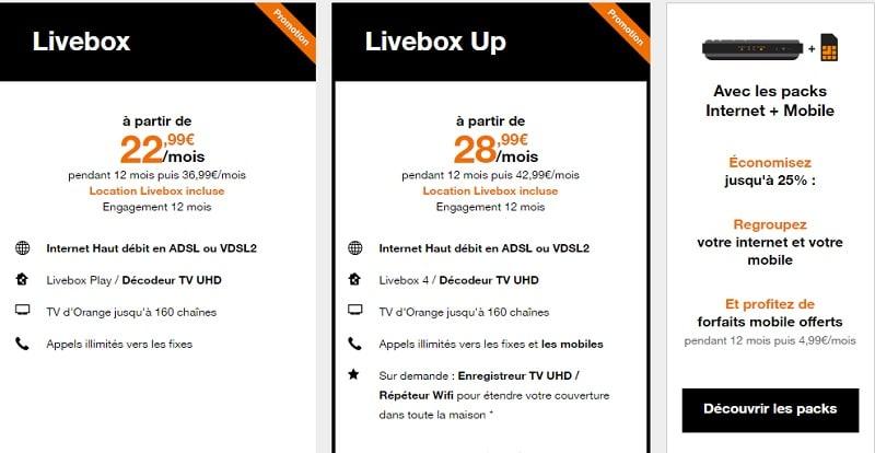 offres livebox adsl en promo pour noel