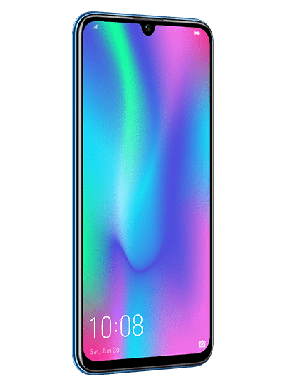 honor 10 lite de face