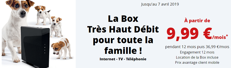 box credit mutuel très haut débit en promo à 9.99 euros par mois