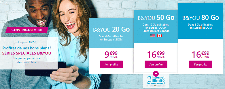 forfait b and you sans engagement promo 2019