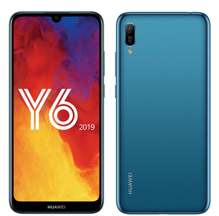 Huawei y6 2019 avec forfaits orange, sfr et bouygues