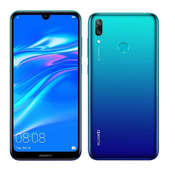 Huawei Y7 2019 avec forfait bouygues