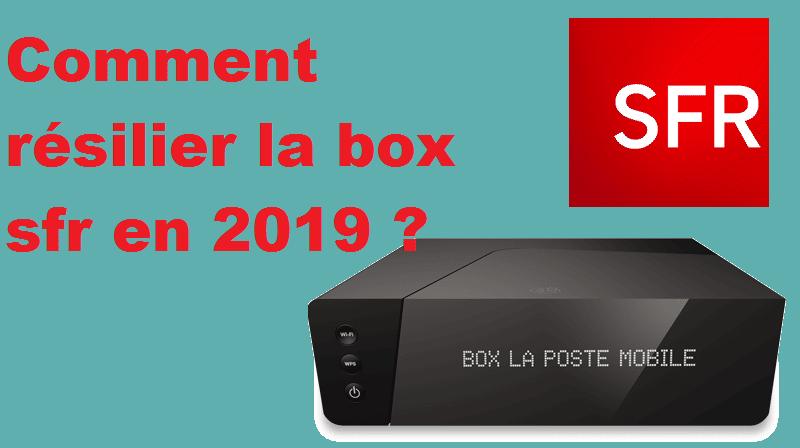 Comment Résilier Box Sfr Procédures à Suivre En 2019 Lettre