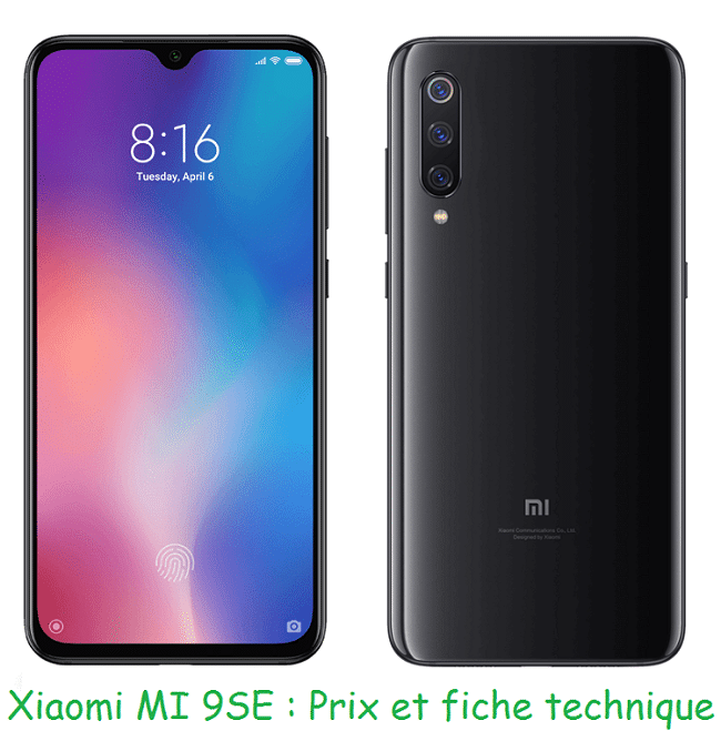 Xiaomi MI 9 SE avec forfait