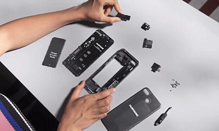 modules du fairphone 3