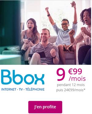 série spéciale bbox à 9.99 euros