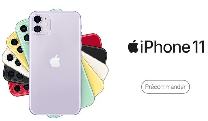 iphone 11 avec forfait sfr