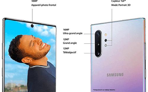 appareil photo du smartphone