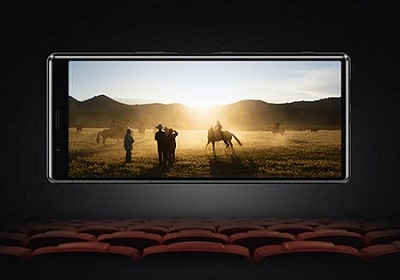 écran cinéma pour le xperia 5