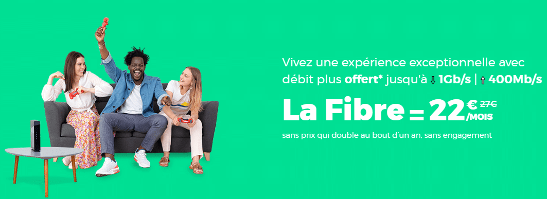 box internet red by sfr à 22 euros par mois