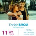 forfait b and you sans engagement b and you 50 go à 11.99 euros par mois