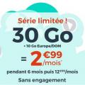 forfait cdiscount 30 Go à 2.99 euros par mois
