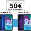 odr honor : 50 € de réduction sur le shonor 20 et 20 pro
