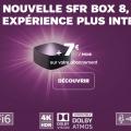 améliorer connexion wifi : nouvelle box sfr 8 en abonnement à 7€ / mois