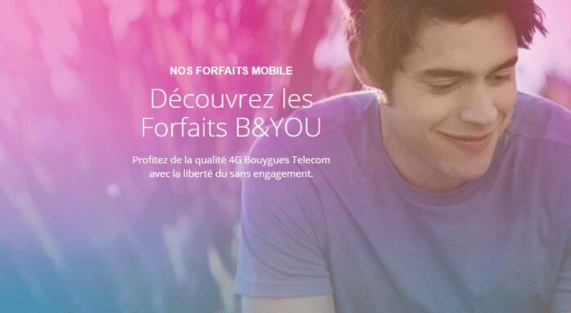forfait mobile sans engagement b and you