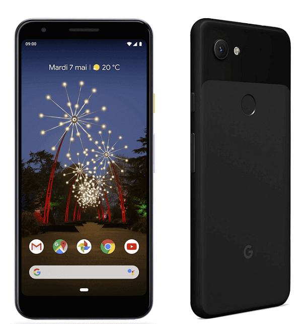 google pixel 3a avec forfait chez bouygues telecom
