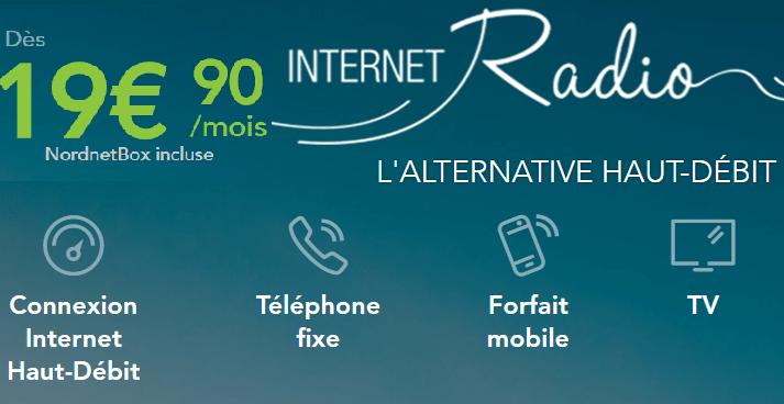 Internet par radio : Prix et détails de l'offre nordnet