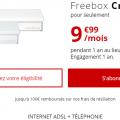freebox crystal pas cher à 9.99 euros par mois
