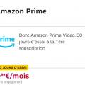 amazon prime sfr en promo : 30 jours d'essai gratuits