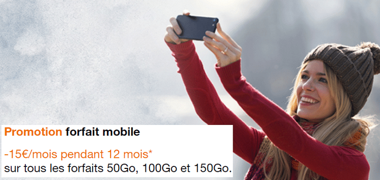 forfait 100 go orange mobile avec promotion