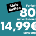 bon plan sosh : forfait 80 go en promo à 14.99 € / mois
