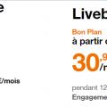 Promotion box intrenet : la fibre dès 22.99 euros chez orange