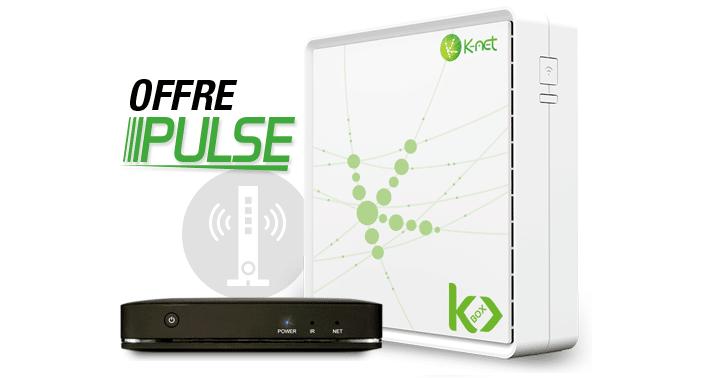 k net fibre offre pulse en promo