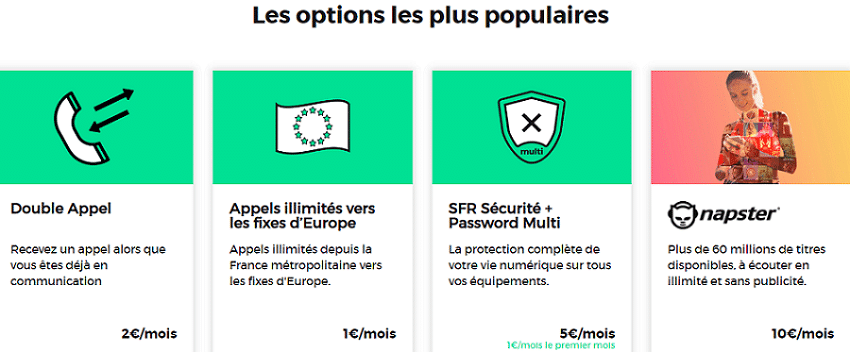 options red sfr à petit prix