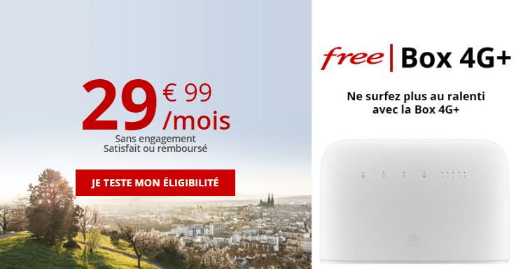 freebox 4g+ sans engagement
