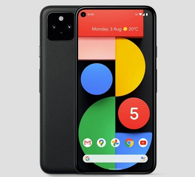 google pixel 5 5g avec forfait