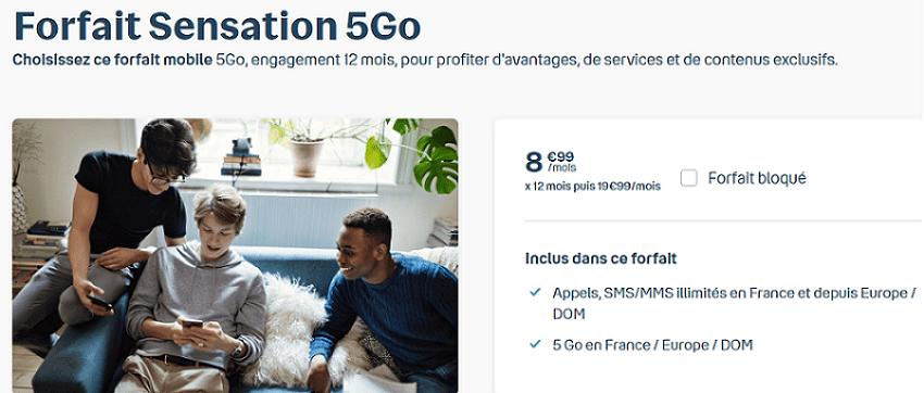 forfait mobile 5g bouygues telecom en promo