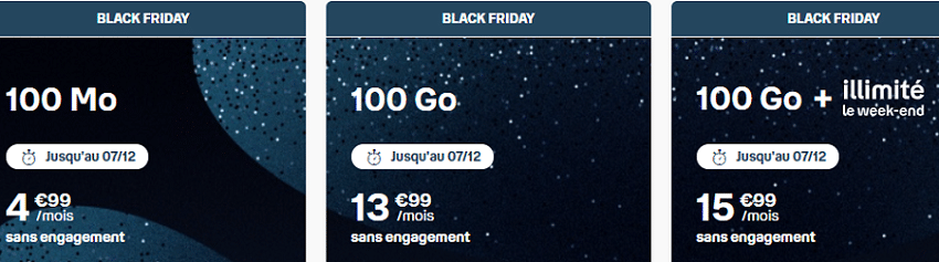 forfait b and you black friday 100 go