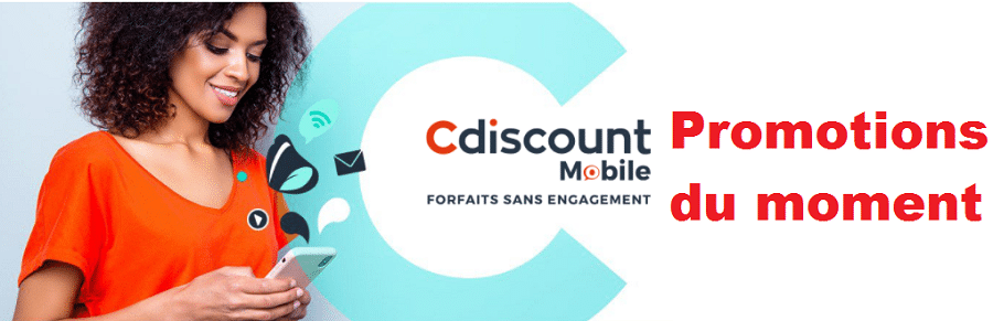 offre mobile cdiscount : promos noel