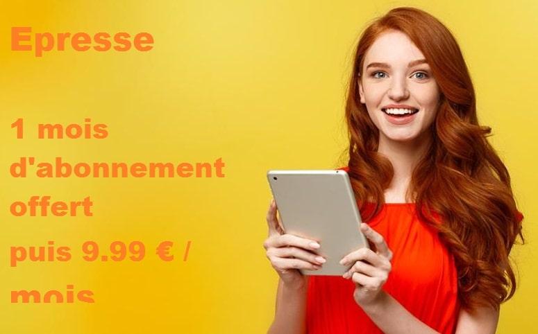 Epresse orange : prix et détails de l'offre avec livebox + 1 mois d'abonnement offert