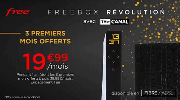 Vente privée Freebox Révolution : Découvrez la promo à 19€99 sur veepee