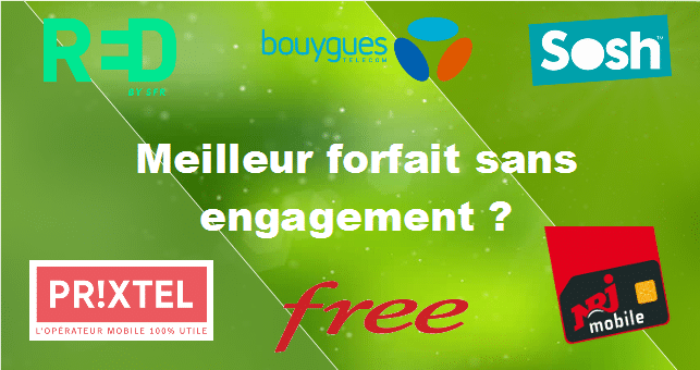 comparatif forfait mobile sans engagement 2021