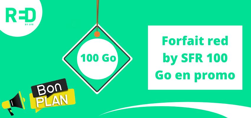 Red 100go BIG : Les avantages du forfait sans engagement en promo sans condition de durée